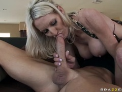 Spicy Buxomy Mom Emma Star In Real Mouth Video