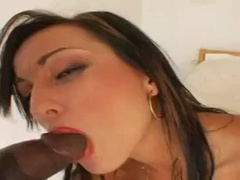 A Wonderful Young Prostitute Acting In Interracial Porn Video