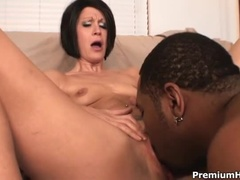 An Incredible Mature Girl With A Wonderful Interracial Sex Video