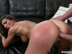 Spicy Brunette Lizz Tayler Is Glad To Have Some Case Of Sperm Face